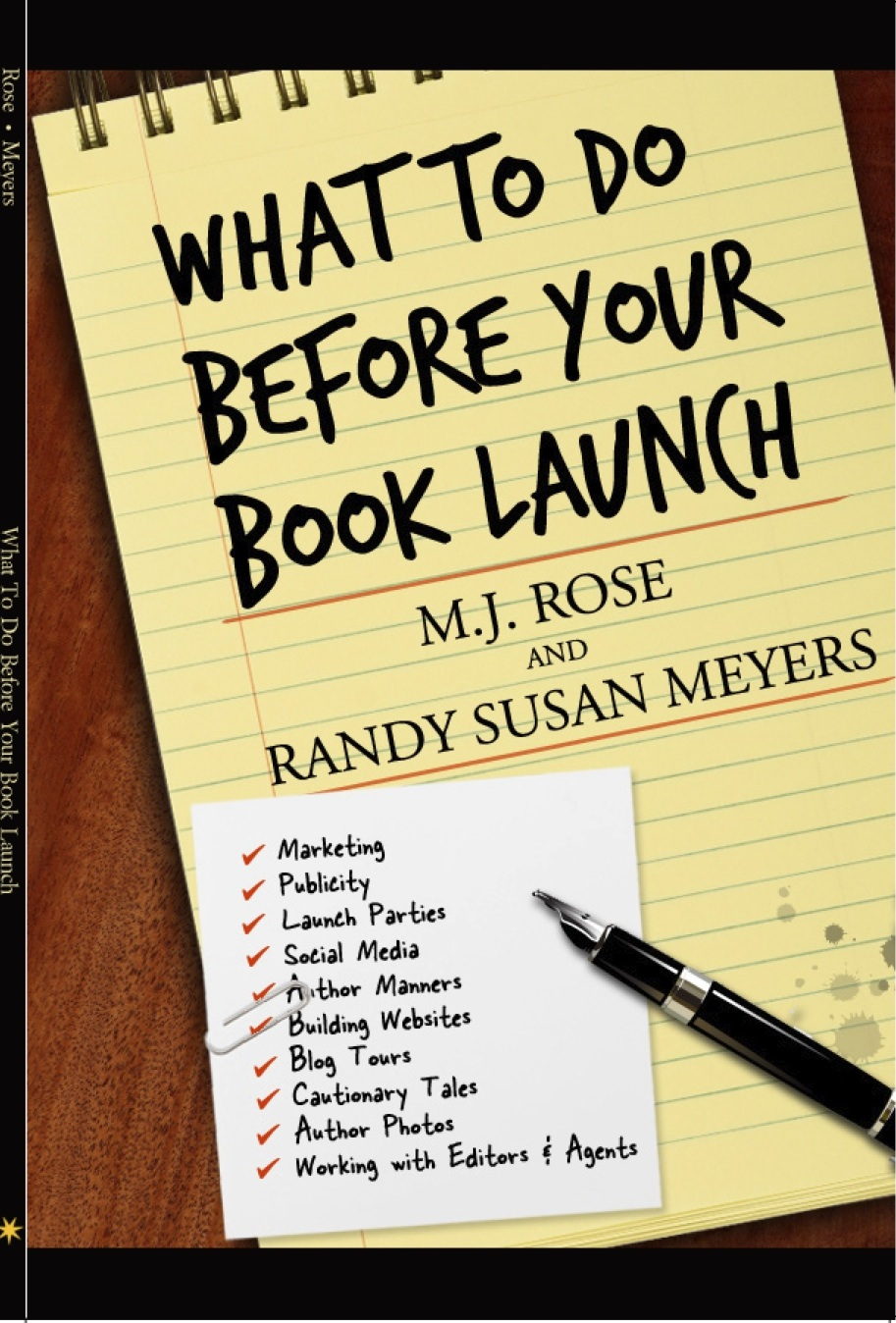 what to do before your book launch: a guidebook | randy susan meyers